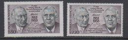 France+Germany 1988 Adenauer/de Gaulle 2x1v   ** Mnh (42210A) - European Ideas