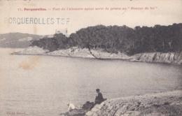 """Griffe """" Porquerolles TSF """" Sur Carte Postale De 1905 - Marcophilie (Lettres)"""