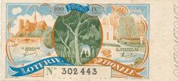 BL 80 / BILLET  LOTERIE NATIONALE  1940 - Billets De Loterie