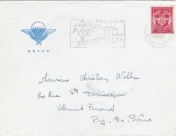 FM 12  Sur Lettre  à Entête Du B. E. T. A. P.  De Pau - Militärpostmarken