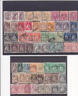 Portugal-60 Selos Ceres Com Vários Carimbos - Postmark Collection