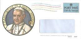 VATICANO - 2018 PORT PAYE' Dell' UFN - Papa Francesco - Vaticano