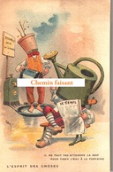 TOP Chromo !!! Chocolat De L'UNION - L'esprit Des Choses : Pas Attendre La Soif Pour Eau Fontaine -  Scans Recto Verso - Chocolat