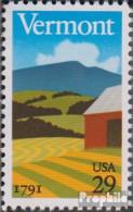 USA 2121 (kompl.Ausg.) Postfrisch 1991 200 Jahre Vermont - Vereinigte Staaten
