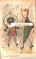 TOP Chromo !!! Chocolat De L'UNION - L'esprit Des Choses : Pour Vanter Beau Jour, Attendre La Fin -  Scans Recto Verso - Chocolat