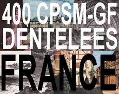 France. 400 Cpsm-gf Dentelées - Postcards