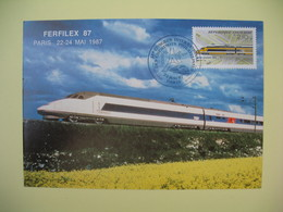 Carte Maximum 1984 N°  2334  Cachet Paris  Ferfilex 87 - Cartes-Maximum