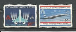 NOUVELLES HEBRIDES Scott F149-F150 Yvert 276-277 (2) **   9,50 $ 1960 - Légende Française