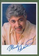 MONTY ALEXANDER  AUTOGRAPH / AUTOGRAMM In Person Signed Glossy Photo 13/18 Cm  *JAZZ* - Autographes