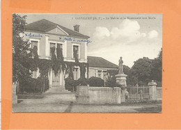 CPA - SARNIGUET - La Mairie Et Le Monument Aux Morts - Frankrijk