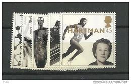 1996 MNH GB, UK, Engeland, Mi 1647-51  Postfris - Nuovi