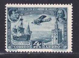 ESPAGNE AERIENS N°   83 * MLH Neuf Avec Charnière, B/TB (L1240) Clôture De L'Exposition De Séville - 1930 - Nuevos & Fijasellos