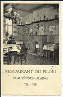 ECAUSSINNES - Restaurant Du Pilori Tél : 318 - Ecaussinnes