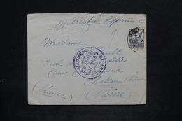 """ESPAGNE - Enveloppe De Vizcaya Pour La France En 1937 Avec Censure , Mention """" Arriba Espana """" - L 25671 - Republikanische Zensur"""