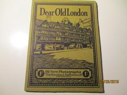 DEAR OLD LONDON ,0 - Livres Anciens