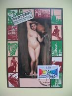 Carte 1990 N° 2572 Salon Parfum D'Europe - Cachet Riquewihr - Expositions