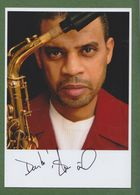 STEVE WILSON  AUTOGRAPH / AUTOGRAMM In Person Signed Glossy Photo 13/18 Cm  *JAZZ* - Autographes