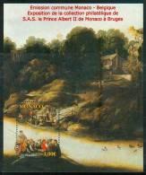 Monaco 2012 - Jan Brueghel, Emission Commune Avec Belgique / Joint Issue With Belgium - MNH - Emissions Communes
