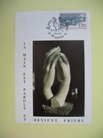 Carte Maximum  1984 N° 2323 La Prière Des Hommes Cachet Nantes - Cartes-Maximum