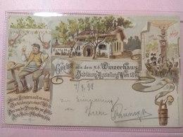 Gruss Aus Dem N.O. Winzerhaus Jubilaums Ausstellung Wien 1898 - Other