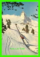 ZERMATT, SUISSE - RIFFELALP MIT MATTERHORN - CIRCULÉE EN 1962 - - VS Valais