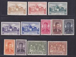 ESPAGNE AERIENS N°   56 à 67 */** MLH/MNH Neufs, Quelques Rousseurs (L1241) Clôture De L'Exposition De Séville - 1930 - Nuevos & Fijasellos