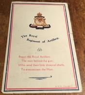 The Royal Regiment Of Artillery ~ Bravo, The Royal Artillery, The Man Behind The......... - Regiments
