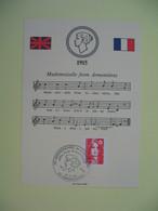 Carte Maximum  1990 N° 2614 - 75 ème Anniversaire De La Chanson à Mademoiselle From Armentières - 1980-89