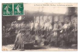Veauche, La Verrerie, Un Four, La Fabrication De Bouteilles - France