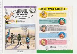 Bataille D'Austerlitz Napoléon Empereur  / Histoire De France  VP 01-FICH - Vieux Papiers