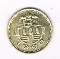 10 AVOS 1993 MACAU /2460/ - Macao