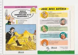 Champollion Et Les Hiéroglyphes Egypte Pyramides  / Histoire De France  VP 01-FICH - Vieux Papiers