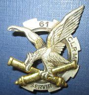61° Compagnie Légère De Réparation Du Matériel - Armée De Terre