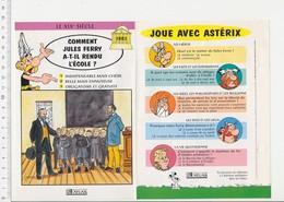 Jules Ferry Ecole Obligatoire Et Gratuite Salle De Classe élèves école écolier En Blouse Histoire De France  VP 01-FICH - Vieux Papiers