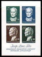 YUGOSLAVIA 1962 Tito 70th Birthday Block MNH / **..   Michel Block 8 - Blocks & Sheetlets