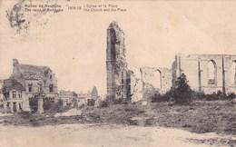 Ruines De Reninghe, L'Eglise Et La Place (pk57308) - Lo-Reninge