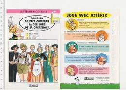 Création De La Communauté Européenne à Six Pays CE CEE Histoire De France  VP 01-FICH - Vieux Papiers