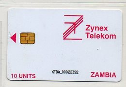 ZYNEX TELEKOM - 10 UNITS - CHIP - Zambia