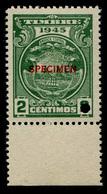 "1945 Costa Rica ""Color Proof Specimen"" - Costa Rica"