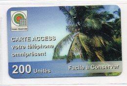 TOGO TELECOM PREPAID 200 UNITES - Togo