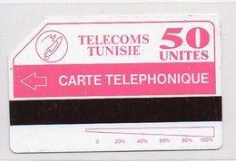 TELECOMS TUNISIE - CARTE TELEPHONIQUE 50 - Tunisia