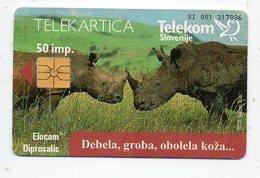 Telekom Slovenije 50 Imp. - RHINO - Slovenia