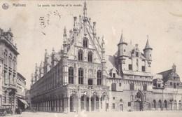 Mechelen, Malines, La Poste, Les Halles Et Le Musée (pk57315) - Mechelen