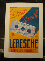 Livre-Manufacture-de-rasoirs-LERESCHE-2010-            Razor-manufacturer-LERESCHE - Livres, BD, Revues