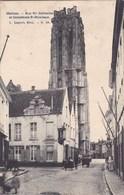 Mechelen, Malines, Rue Ste Catherine Et Cathédrale St Rombout (pk57316) - Mechelen
