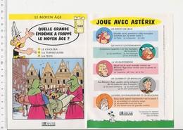 Epidémie De La Peste Au Moyen-âge Maladie  Histoire De France VP 01-FICH - Vieux Papiers