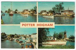 POTTER HEIGHAM Multiview Posted C1980 (Cotman-Color) [P0121/1/1D] - England