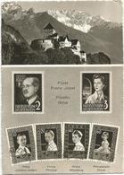 W1979 Vaduz - Furst Franz Josef Furstin Gina - Stamps Timbres Francobolli Illustration / Viaggiata - Francobolli (rappresentazioni)