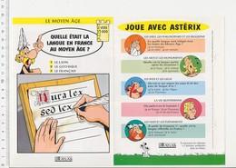 Latin Langue Française Au Moyen-âge (Duralex Sed Lex) écriture Histoire De France VP 01-FICH - Vieux Papiers