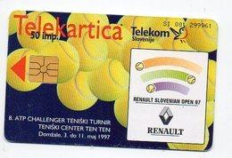 Telekom Slovenije 50 Imp. - RENAULT - Slovenia